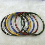 Wholesale 7PCS Chinese Hand Cloisonne Enamel Hollow Cuff <b>Bracelet</b> Bangle>>> women jewerly Free shipping