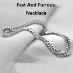 The Fast And Furious 8 Pure 925 Sterling <b>Silver</b> Chain <b>Necklace</b> For Vin Diesel Men Dominic Toretto Women Drop Ship ReplicaJewelry