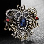Fashion Women Resin Flower Brooches Bouquet Nice Turkish <b>Jewelry</b> <b>Antique</b> gold vintage scarf pins and hijab accessory