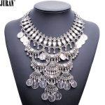 Wholesale NEW hot sale ethnic vintage <b>antique</b> coins medallion bib pendant necklace statement JURAN <b>Jewelry</b>