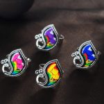 100% <b>handmade</b> more style Embroidery rings Miao silver plated ethnic cotton <b>jewelry</b> creative personality colorful ring