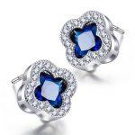 Jemmin High Quality Fine Sterling <b>Silver</b> Stud <b>Earrings</b> For Women Wedding Engagement Jewelry Brincos Bijoux