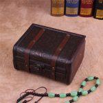 Wooden Box Storage Box Organizer Cajas Organizadoras Retro <b>Antique</b> Lockable Ooden <b>Jewelry</b> Boite De Rangement Makeup Caixa