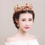 YueBanG 2018 New Baroque Vintage Pearl Crown Elegant Golden Bridal Hair Accessories For Women Crystal <b>Wedding</b> <b>Jewelry</b> Headdress.