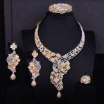 GODKI Big Luxury Flower Boom Women Engagement Cubic Zirconia <b>Necklace</b> Earring Dubai <b>Jewelry</b> Set Jewellery Addiction