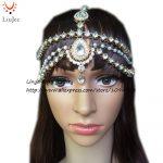 HC-160 Full Crystal Diamante head band hair <b>jewelry</b> wedding bridal head <b>Jewelry</b>,head chain birthday boho