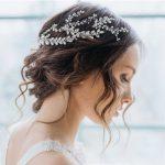 Elegant Bridal Headband Tiara Gold Silver Pearl Crystal Hair <b>Jewelry</b> <b>Wedding</b> Hair Accessories High-end Bride Hairband Head Chain