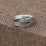 Original <b>Handmade</b> Braided Rings For Men And Women Vintage Type 925 Sterling Silver <b>Jewelry</b> Bijouterie Fine