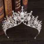 Crystal Big Tiara And Crowns Luxury Rhinestone Bridal Hair <b>Jewelry</b> For Women <b>Handmade</b> Queen Princess Wedding Hair Accessories
