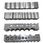 (32x32x205mm)Steel Channel with 4 sided multipurpose steel dapping block <b>Jewelry</b> <b>Making</b> Tools