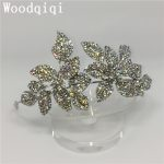 Woodqiqi <b>fashion</b> <b>jewelry</b> hair accessories for women quinceanera crowns wedding headband bridal queen hair products head piece