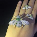insect <b>jewelry</b> set 925 <b>sterling</b> <b>silver</b> with cubic zircon bee pendant and earring fashion women jewerly free shipping