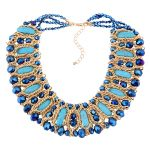 Kinel 2016 Gold Fashion <b>Jewelry</b> Luxury <b>Handmade</b> Necklaces For Women Bohemia <b>Jewelry</b> 5 Colors Choose