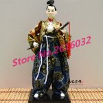 30cm Samurai Japanese humanoid Doll Restaurant <b>supplies</b> gift <b>jewelry</b> ornaments Home Furnishing Restaurant #3608