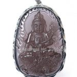 925 Sterling <b>Silver</b> Natural Ice Obsidian Carved Chinese Zodiac Dragon Amulet Buddha Pendant + Beads <b>Necklace</b> fashion Jewelry
