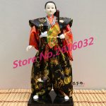 30cm Samurai Japanese humanoid Doll Restaurant <b>supplies</b> gift <b>jewelry</b> ornaments Home Furnishing Restaurant #3615