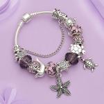 Fashion Women Silver Bracelet Valentine's Day Gift Girls New Style Trendy <b>Wedding</b> <b>Jewelry</b> 021