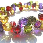 60pcs Multicolor Cubic Zirconia Beads, <b>Jewelry</b> Craft <b>Supplies</b> diamond teardrop drop faceted CZ Bracelet 5-9mm