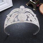 2017 New Bride Headdress Cystal <b>Silver</b> Crown Wedding Hair <b>Jewelry</b> Princess Hair Comb Wedding Accessories Crown FN-G060