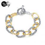 UNY Bracelet Designer Brand David Inspired Bracelets Antique Women <b>Jewelry</b> Cable Wire Vintage Bracelet Christmas Gifts Bracelets