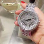Top Brand <b>Silver</b> Women <b>Bracelet</b> Watch Luxury Waterproof Quartz Watches Women Fashion Luxury WatchWomen Dress Watches