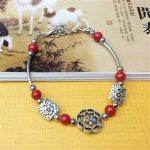 Four Colors Flowers Beads <b>Native</b> <b>American</b> Fine <b>Jewelry</b> Beautiful Bracelet For Women Free Shipping