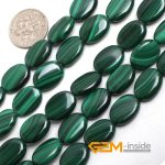 10X14MM oval malachite stone beads natural stone beads DIY loose beads for <b>jewelry</b> <b>making</b> strand 15 inches wholesale !