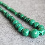 New 6-14mm Natural Green Turkey Malachite Necklace Women Girls Gift Beads Natural Stone 15inch Fashion <b>Jewelry</b> <b>Making</b> Design