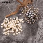 Natural Beads Brooches Pins For Women <b>Handmade</b> Muslim Hijab Pin Safety Scarf Brooch Mujer Female Broches New 2018 <b>Jewelry</b> Gifts