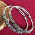 Rare folk style Miao silver <b>jewelry</b> <b>handmade</b> fine bracelet bracelet Miao free shipping