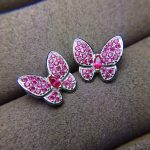 Natural red ruby gem jewelry sets natural gemstone ring Pendant <b>Earrings</b> 925 <b>silver</b> Elegant lovely heart butterfly fine jewelry