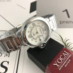 Fashion Casual Clock <b>Silver</b> <b>Bracelet</b> Watch Women Rhinestone Watches Women's elegant Quartz Wrist Watch relojes mujer