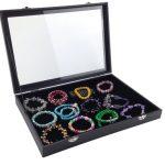 24 Lattice <b>Jewelry</b> Storage Box Necklace Ring Pendant Earring Bracelet <b>Jewelry</b> Display Prop <b>Jewelry</b> Box Home Storage <b>Supplies</b>