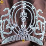Amazing Royal Queen 6″ Tiara Diadem Handmade Clear Austrian Rhinestones Crystal Crowns <b>Wedding</b> Pageant Party Hair <b>Jewelry</b>