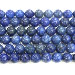 "6mm Round Lapis Lazuli AB Grade Genuine Bead Semiprecious Semi Precious Stone Wholesale Beads 4134 15""L <b>Jewelry</b> <b>Supply</b>"