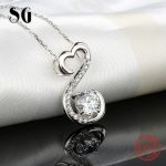 Aliexpress recommend lovely chain pendant&necklace 925 sterling silver European diy fashion <b>jewelry</b> <b>making</b> for women gifts