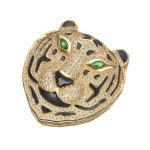 Big Tiger Pendant Accessories For DIY Multi Strand Beaded Chain / Pearls Chain Necklace <b>Making</b> Findings Component