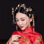 Chinese Bride Headdress Costume Tassel Feng Guan <b>Wedding</b> Show Wo <b>Jewelry</b> Phoenix Crown Brand Original <b>Wedding</b> Hoop Hair