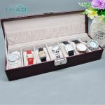 <b>Fashion</b> watch <b>jewelry</b> storage box with lock security organizer Storage Casket Men are available for Travel Case Best Gift