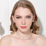 MeiBaPJ High Quality Real Natural Pearl Jewelry Sets Fashion S925 Sterling <b>Silver</b> Collar Necklace & <b>Earrings</b> Set Wedding Jewelry