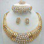 Fani 2018 Fashion African Beads <b>Jewelry</b> Sets Women customer Dubai Gold-colorful <b>Jewelry</b> Sets Wholesale nigerian bridal bead set