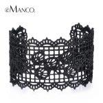 Black bud silk wide bracelet for women 2016 eManco zinc alloy bracelet bangles 2016 new fashion <b>jewelry</b> <b>accessories</b> BL06536