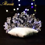Super Luxurious Led Light Headband For Women <b>Wedding</b> Bridal Crystal Tiara Flower Crown Silver Plated Hairband Hair <b>Jewelry</b> HG186