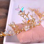 Bride Diaries crown stars <b>wedding</b> hair <b>jewelry</b> baroque <b>wedding</b> party headbands fashion hair ornaments bridal tiara