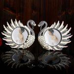 XXXG European crystal ornaments ornaments Swan wedding gift <b>jewelry</b> <b>supplies</b> Home Furnishing small living room decoration