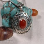 <b>Handmade</b> 925 Silver Nepalese Good Luck Pendant Necklace Tibetan Lucky Pendant Necklace Bohemia <b>Jewelry</b>