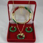 Prett Lovely Women's Wedding Wonderful Multicolor gem Circle Dragon Pendants Necklace Earring Bracelet 02 5.27 – silver-<b>jewelry</b>