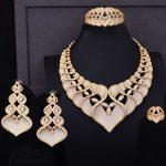GODKI Super Luxury Geometry Flower Women Wedding Cubic Zirconia Choker <b>Necklace</b> Earring Dubai <b>Jewelry</b> Set Jewellery Addict