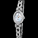 Royal Crown Jewelry Watch 6537S Italy brand Diamond Japan MIYOTA platinum <b>Silver</b> <b>bracelet</b> 16*21mm Claw set Soviet drill