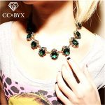 CC Vintage Necklace For Women Chokers Necklaces Pendants Hyperbole Clavicle Chain <b>Accessories</b> Pendant Luxury <b>Jewelry</b> CCN168a